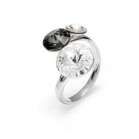 Anello donna in argento e cristalli swarovski SPARK P11223CSN