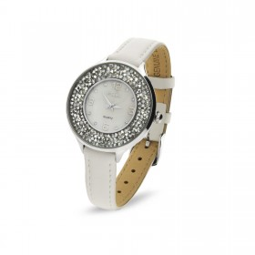 Women's watch in stainless steel and Swarovski crystals SPARK ZCR34C