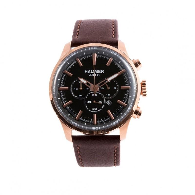 HAMMER AMYR men's wrist watch in rose gold steel H3C60G-04