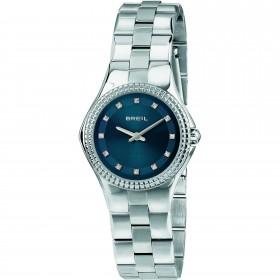 Orologio da polso donna BREIL CURVY in acciaio e cristalli TW1729