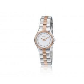 Orologio da polso donna BREIL CURVY in acciaio rosa e cristalli TW1731