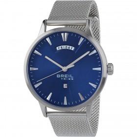 Orologio da polso uomo BREIL FRIDAY in acciaio con quadrante blu EW0416