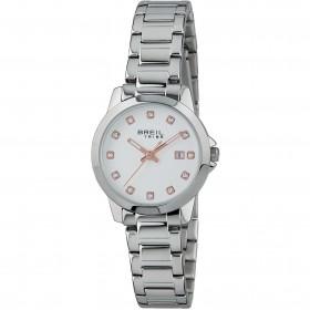Orologio da polso donna BREIL CLASSIC ELEGANCE in acciaio e cristalli EW0410