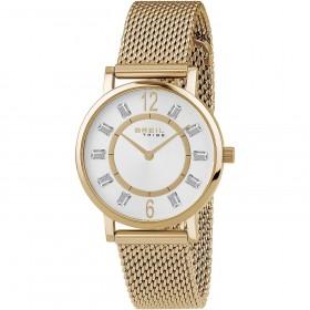 Orologio da polso donna BREIL SKINNY in acciaio e cristalli EW0403
