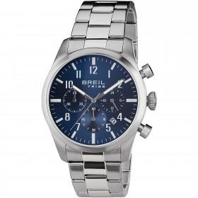 Orologio da polso uomo BREIL CLASSIC ELEGANCE in acciaio con quadrante blu EW0226