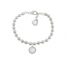 Woman bracelet DVCCIO MY CHARMS with letter C and X4436FM crystals