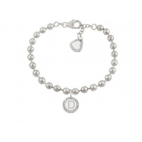 Bracelet woman DVCCIO MY CHARMS with letter D and crystals 0FY1BFM
