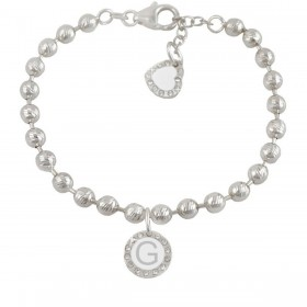 Bracelet woman DVCCIO MY CHARMS with letter G and crystals 2ZJK7FM