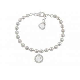 Woman bracelet DVCCIO MY CHARMS with letter P and crystals 8H872FM