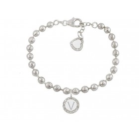 Women's bracelet DVCCIO MY CHARMS with letter V and FOVJJFM crystals