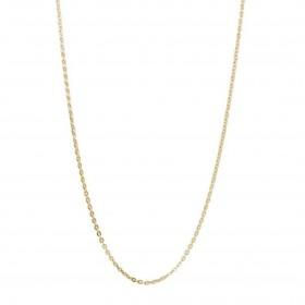 Collana catena donna BROSWAY in acciaio e pvd oro 530 mm BCT36
