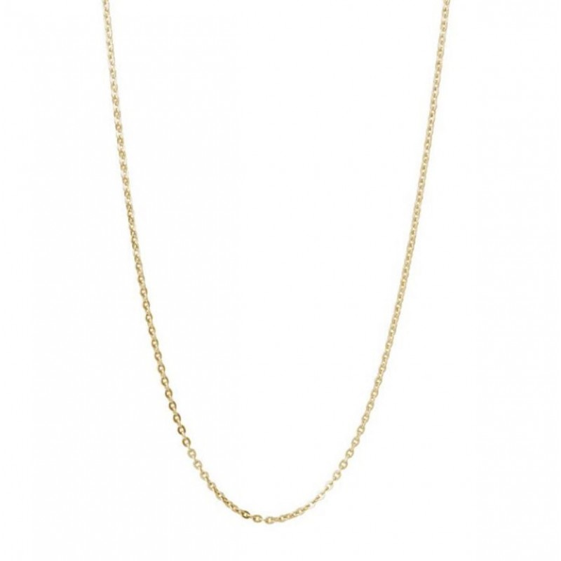 BROSWAY women's chain necklace in stainless steel and gold pvd 530 mm BCT36