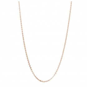 BROSWAY woman chain necklace in stainless steel and rose gold pvd 530 mm BCT37