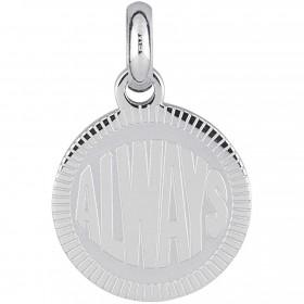 Woman pendant with engraving BROSWAY TRES JOLIE in steel BTJM269