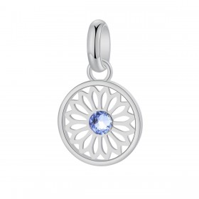 BROSWAY TRES JOLIE women's pendant in light sapphire steel and crystal BTJM267