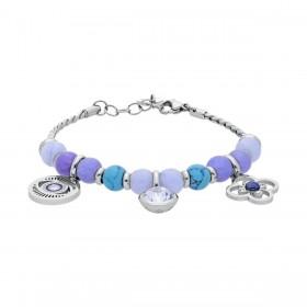 BROSWAY TRES JOLIE woman bracelet in steel stones and crystals BTJMS687