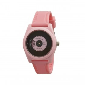 Orologio da polso unisex SMARTY VINILE in silicone rosa SW045A01