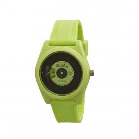 SMARTY VINYL green silicone wristwatch SW045A07 unisex wristwatch