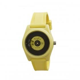 Orologio da polso unisex SMARTY VINILE in silicone giallo SW045A08