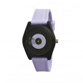 SMARTY VINYL purple silicone wristwatch SW045D02 unisex wristwatch