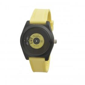 Orologio da polso unisex SMARTY VINILE in silicone giallo SW045D08