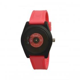 Orologio da polso unisex SMARTY VINILE in silicone rosso SW045D06