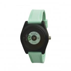 SMARTY VINYL green silicone wristwatch SW045D09 unisex wristwatch