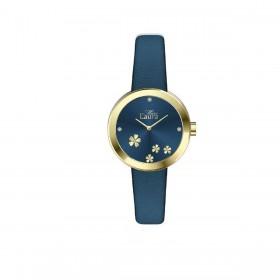 Orologio da polso donna MISS LAURA DAISY in acciaio e pelle blu DAI11.11.4