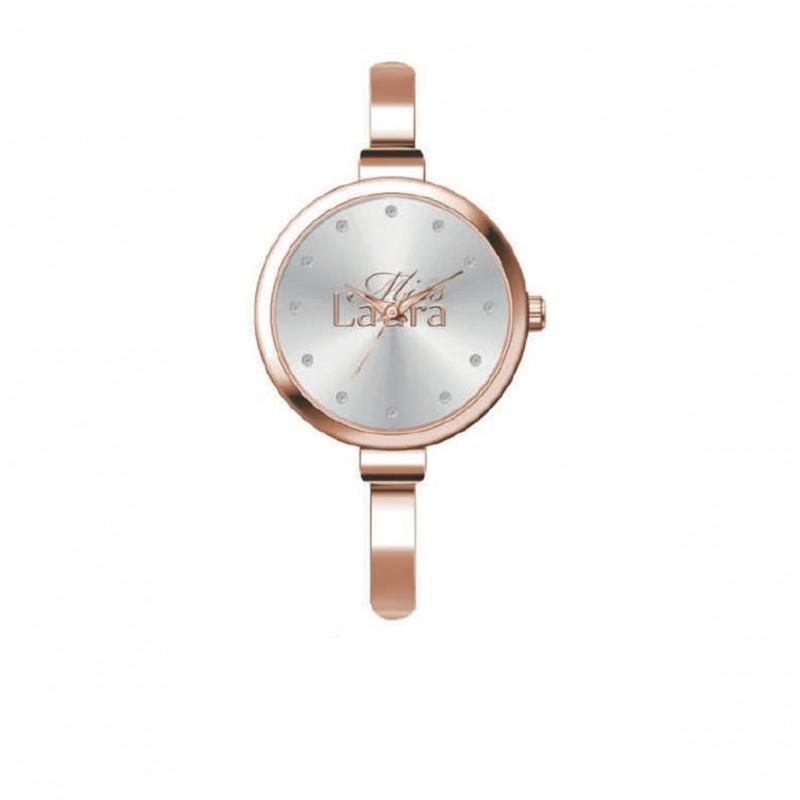 Orologio da polso donna AMBER in acciaio oro rosa AMB5.3.5