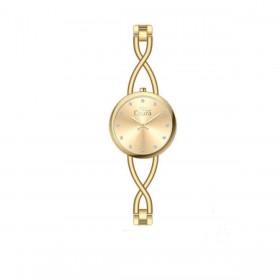 Orologio da polso donna MISS LAURA IRIS in acciaio quadrante oro IRI4.4.4
