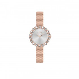 MISS LAURA ROSE women's wristwatch in rose gold steel ROS5.3.5