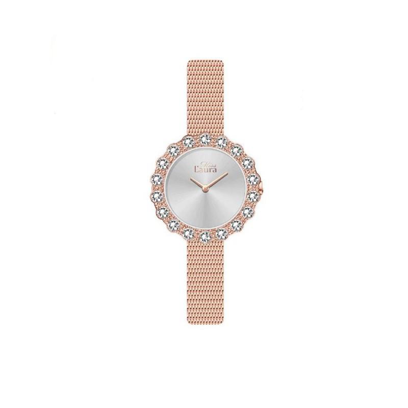 Orologio da polso donna MISS LAURA ROSE in acciaio oro rosa ROS5.3.5