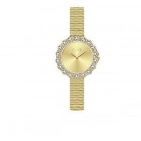 Orologio da polso donna MISS LAURA ROSE in acciaio quadrante oro ROS4.4.4