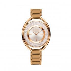 Orologio da polso donna MISS LAURA RUBY in acciaio quadrante bianco RUB5.3.5