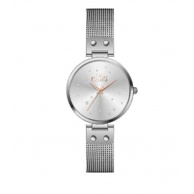 MISS LAURA LILY women's wristwatch in steel LIL3.3.3