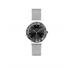 Orologio da polso donna MISS LAURA LOTUS in acciaio e quadrante nero LOT3.1.3