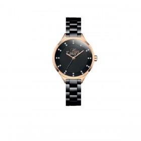 Orologio da polso donna MISS LAURA OPAL in acciaio nero OPA1.1.5