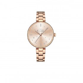 MISS LAURA PEARL women's wrist watch in rose gold steel PEA5.5.5