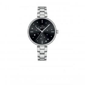 Orologio da polso donna MISS LAURA PEARL in acciaio quadrante nero PEA3.1.3