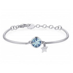 Bangel woman BROSWAY CHAKRA bracelet in stainless steel with crystal and BHK245 pendant