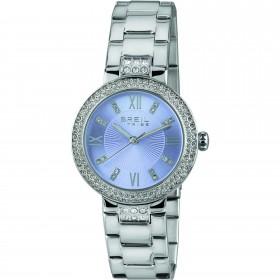 Orologio solo tempo donna BREIL DANCEFLOOR in acciaio e cristalli bianchi EW0419