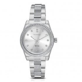 Orologio solo tempo donna BROSWAY DECO in acciaio e cristalli WDC14