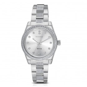 Watch only time woman BROSWAY DECO in steel and crystals WDC14