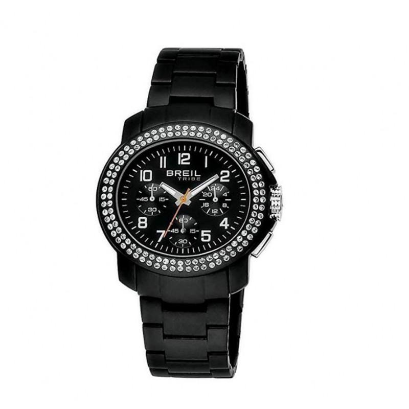 Orologio cronologico donna BREIL TRIBE in acciaio e zirconi TW0377