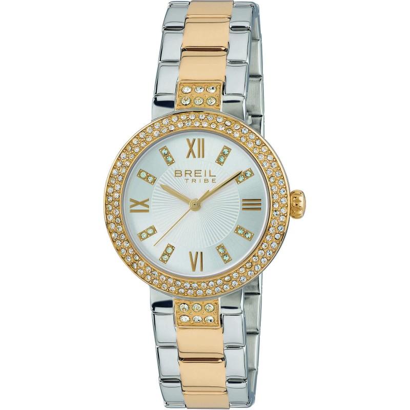 Orologio solo tempo donna BREIL DANCEFLOOR in acciaio e cristalli EW0421