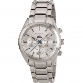 BREIL MANTA CITY chronograph watch in stainless steel TW1607