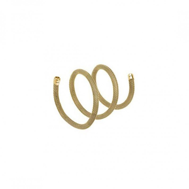 Bracciale donna modellabile BREIL NEW SNAKE in acciaio oro giallo TJ2712