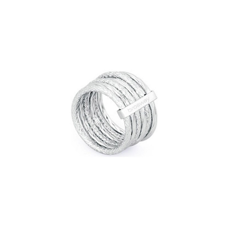 BROSWAY FALLING STAR women's multi-thread ring in BFG31D steel