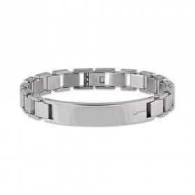 BROSWAY men's steel and diamond BET02 bracelet