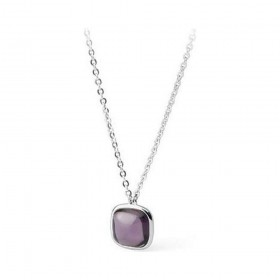 BROSWAY MARILYN bronze women's necklace with purple stone BMM02